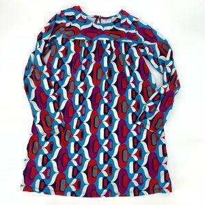 Hanna Andersson Long Sleeve Printed Dress